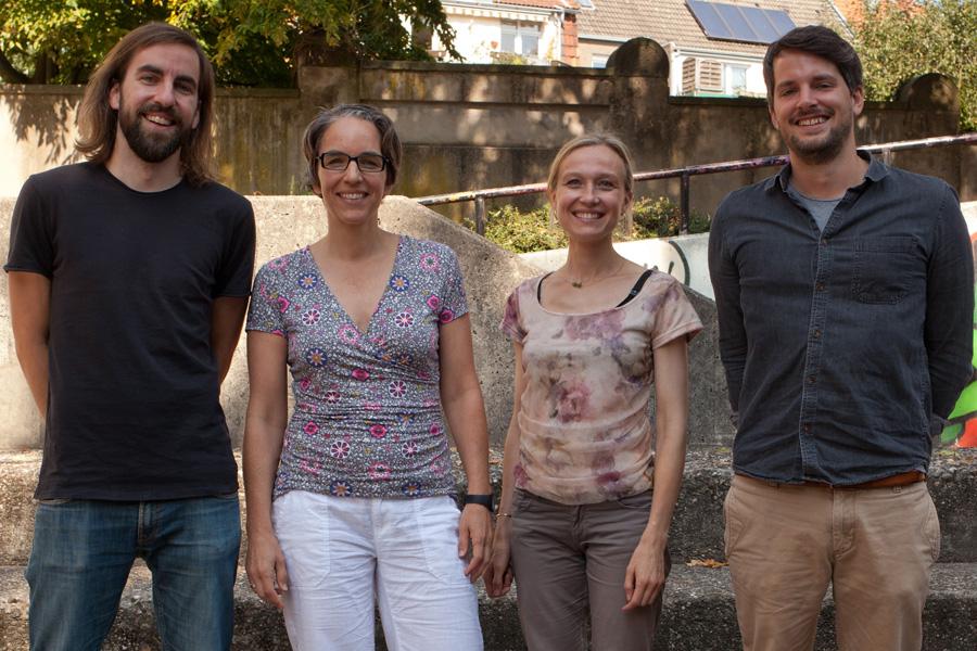 Die Fachschaft Kunst am Schillergymnasium Münster