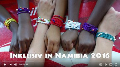 Inklusiv in Namibia 2016