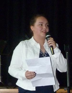Abiturientin Catharina Dalhaus