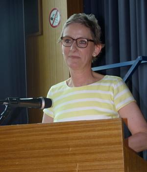 Schulleiterin des Schillergymnasiums Münster, Anne Eyben