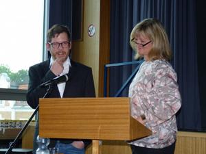 Stufenleiter Ulrike Stüwe und Frederik Voigt