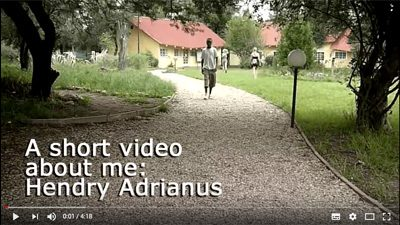 A short video about me: Hendry Adrianus