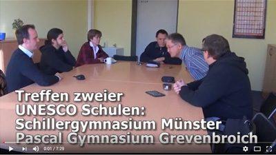 Pascal und Schiller: Treffen zweier UNESCO Schulen