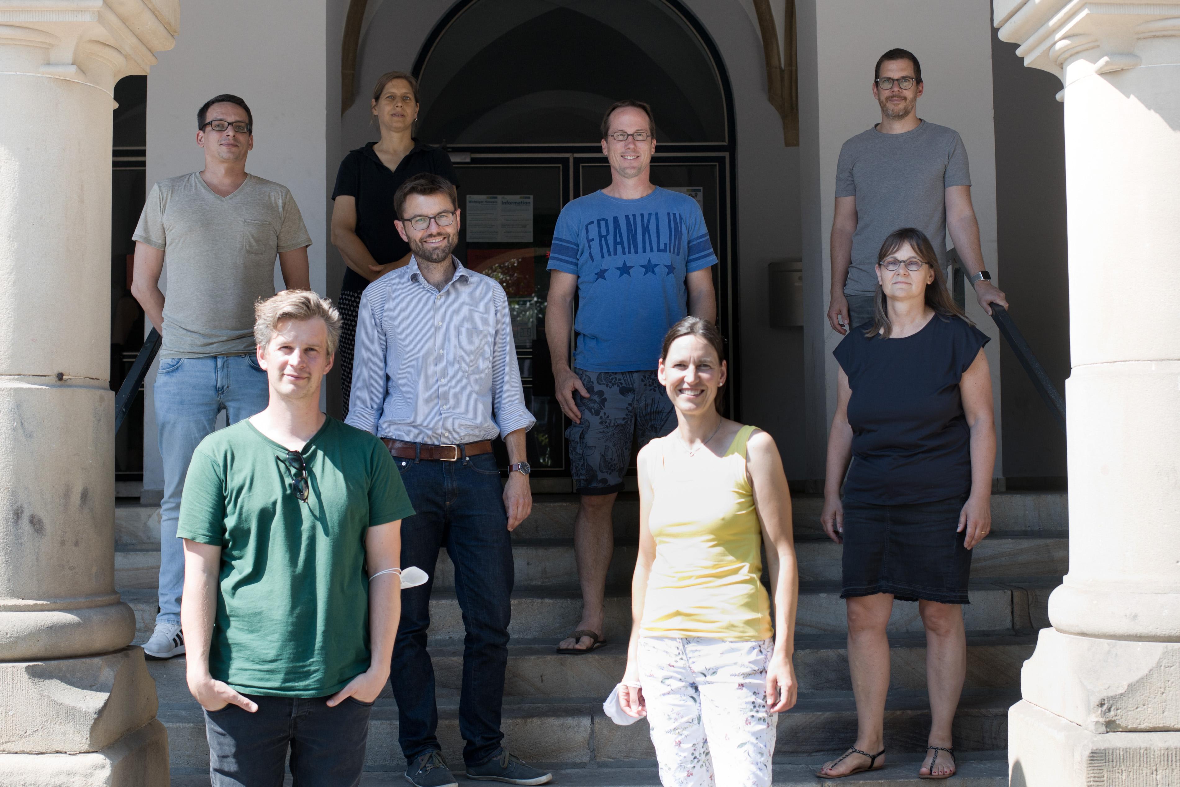 Die Fachschaft Erdkunde am Schillergymnasium Münster