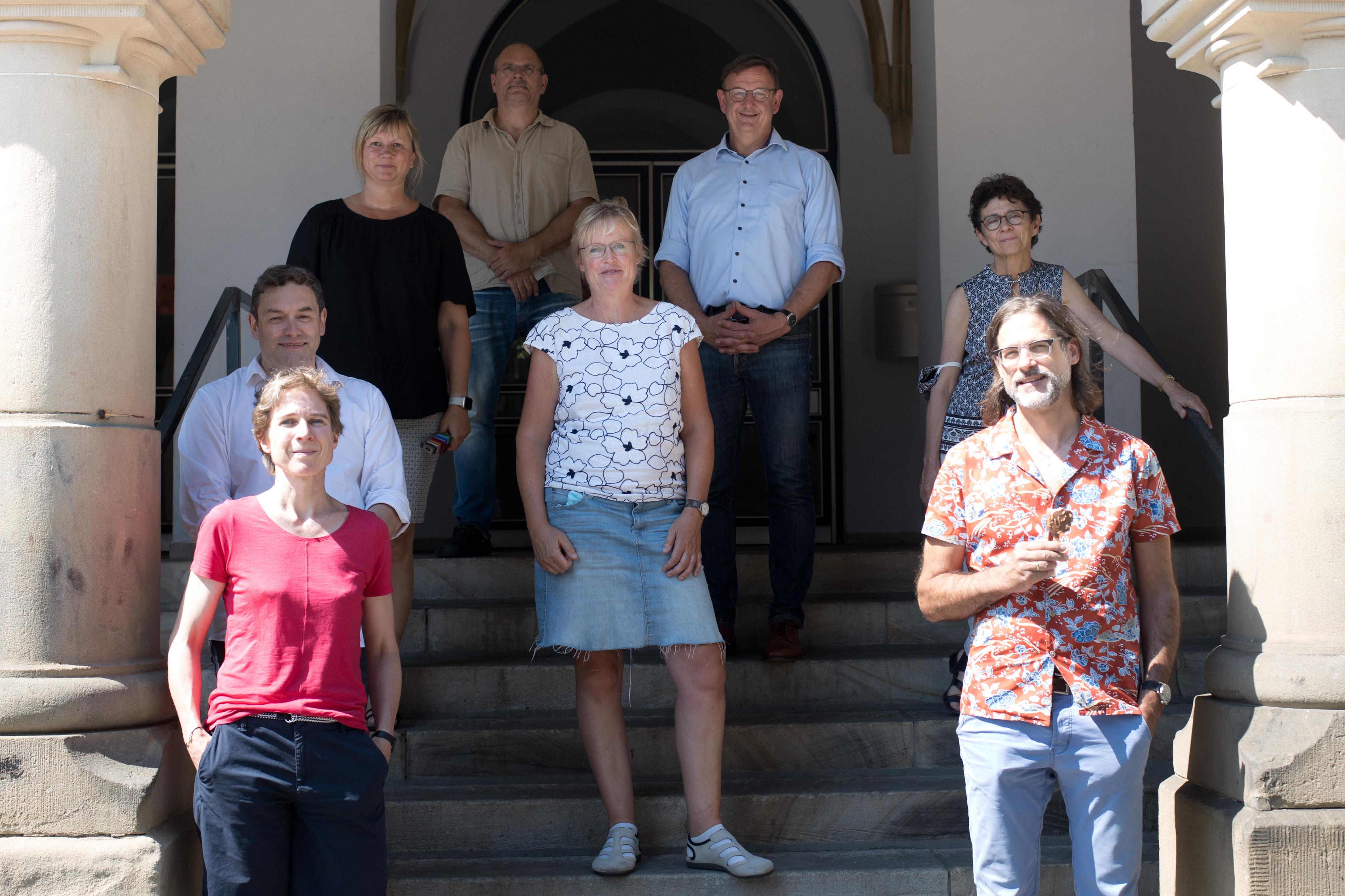 Die Fachschaft Geschichte am Schillergymnasium Münster