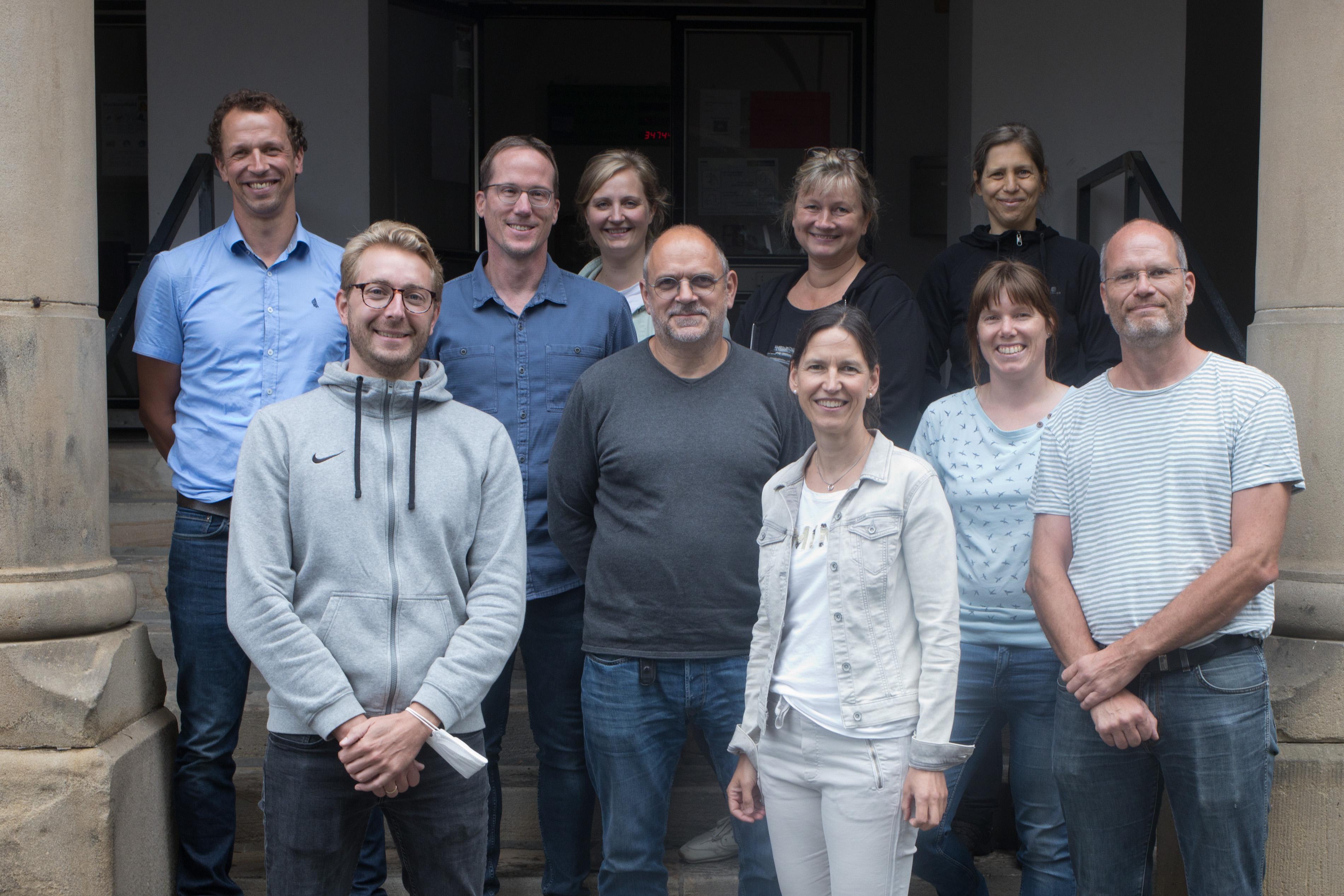 Die Fachschaft Sport am Schillergymnasium Münster